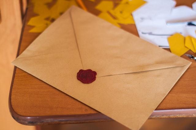 Ďakovný list od P. Michala