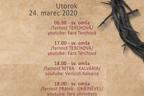 Priame prenosy Verbistov – 24.4.